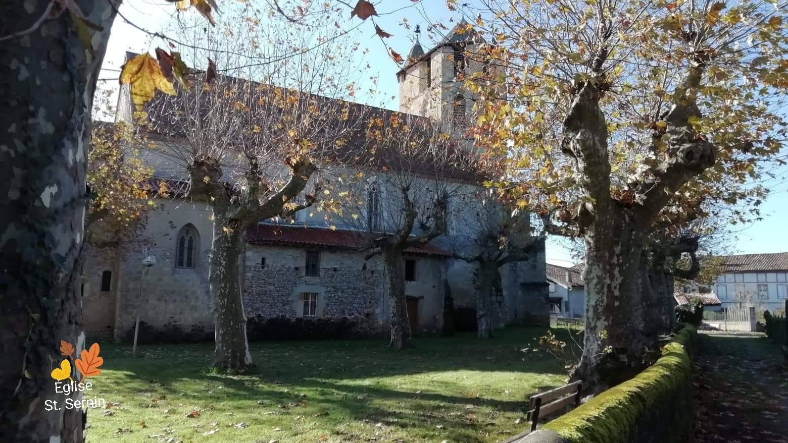 Dorpen & Steden Daumazan-sur-Arize Kerk Église St. Sernin