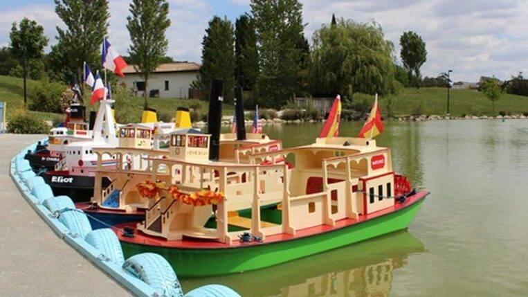 Toerisme Ariège Kinderen Pret Port Miniature Bootjes