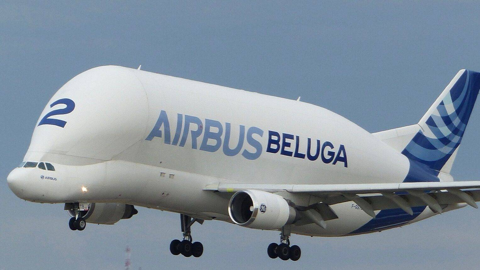 Toerisme Toulouse de roze stad, beluga Airbus