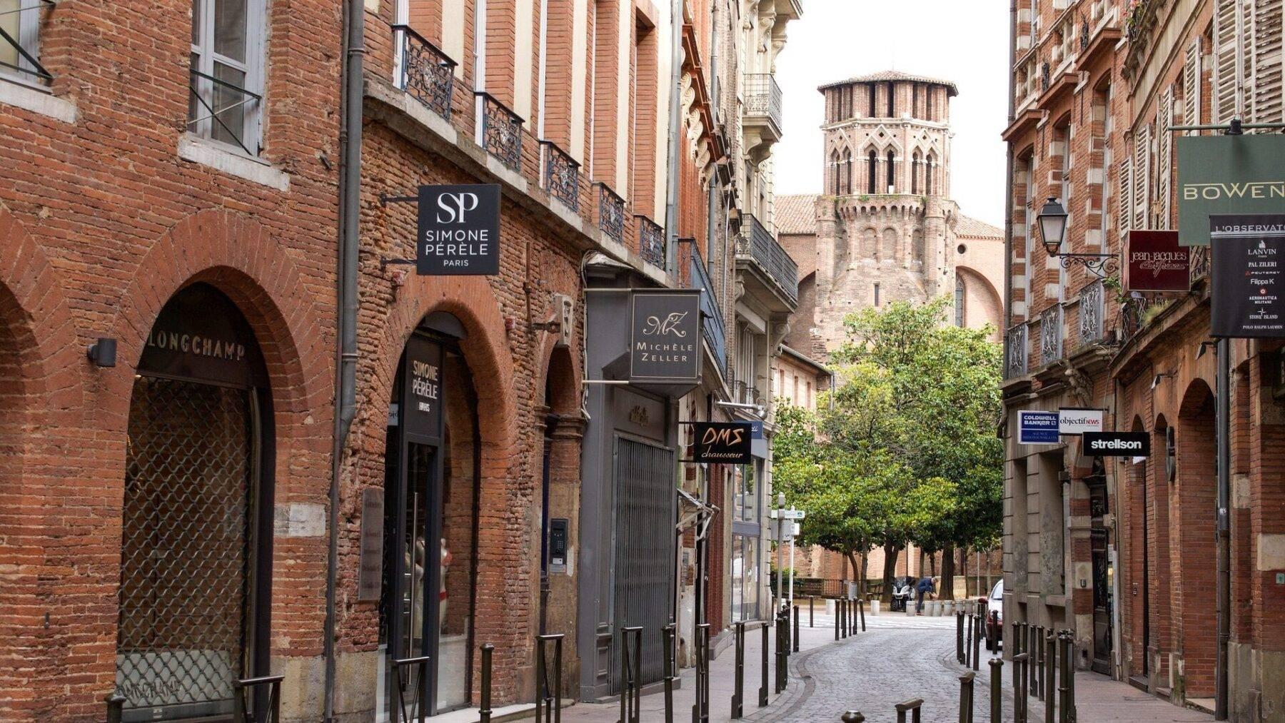 Toerisme Toulouse de roze stad