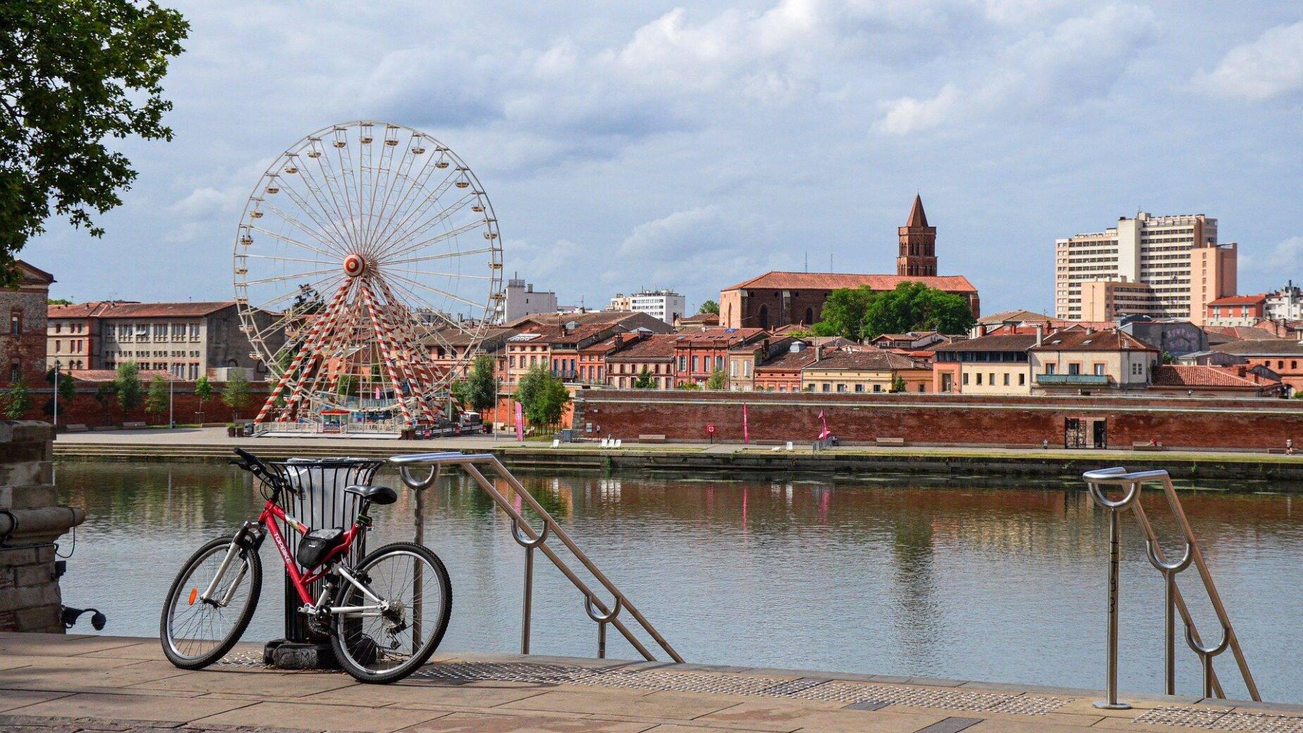 Toerisme Toulouse de roze stad, Kade Garonne