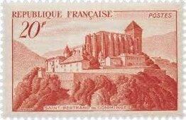 St. Bertrand de Comminges postzegel